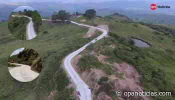 Ecopetrol culmina construcción de placa huella en Baraya, Huila - Opanoticias