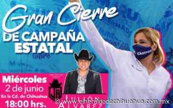 Estará Julión Álvarez en El Palomar por cierre de campaña de Maru Campos - El Heraldo de Chihuahua