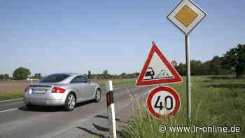 Straßenverkehr in Elbe-Elster: Kraftfahrer müssen sich auf Baustellen um Herzberg einstellen - Lausitzer Rundschau