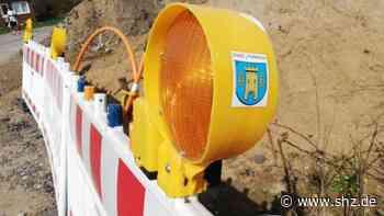 Wegen Kanalbauarbeiten: Baumschulenweg in Tornesch wird fünf Werktage voll gesperrt   shz.de - shz.de