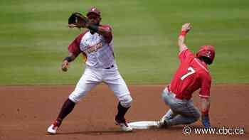 Canada's bats stifled as Venezuela pitches one-hit shutout in final Group B game