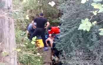 Encontraron a un hombre herido en un arroyo de La Tablada - Misiones Cuatro