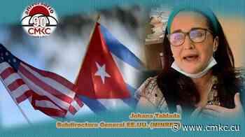 Johana Tablada, Subdirectora General de Estados Unidos del Minrex rechaza injerencia contra Cuba (+ VIDEO) - CMKC