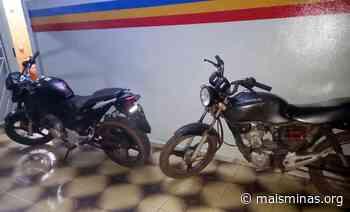 Polícia Militar recupera motocicletas furtadas em Ouro Preto e Itabirito - Mais Minas