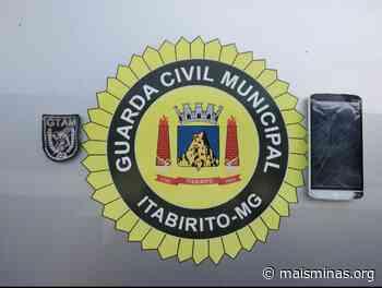 Guarda Civil de Itabirito recupera celular roubado de idoso - Mais Minas