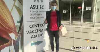 Prima dose di vaccino a Gemona per Barbara Zilli - Il Friuli