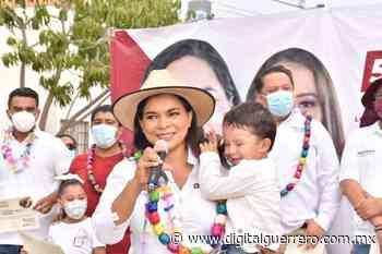 Un cierre de campaña diferente, encabeza Bety Mojica en San Agustín - Digital Guerrero
