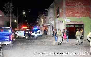 Matan a hombre en San Agustín - Noticias Vespertinas