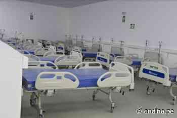 Huaraz: Villa EsSalud es construida en tiempo récord para reforzar lucha contra covid-19 - Agencia Andina
