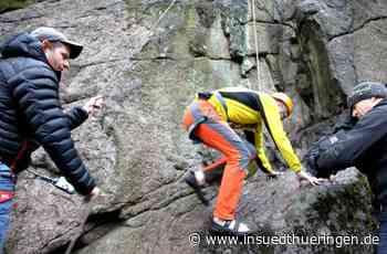Tourismus - Neues Klettergebiet in der Inselbergregion - inSüdthüringen