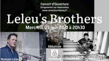 Leleu's Brothers Concert - Abbaye de Surbourg, Surbourg, 67250 - Sortir à Strasbourg - Le Parisien Etudiant
