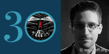 EFF at 30: Surveillance Is Not Obligatory, with Edward Snowden - EFF