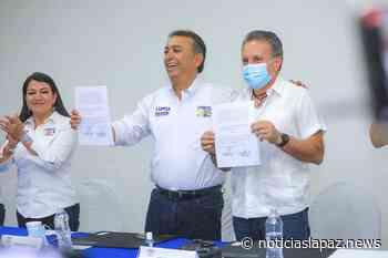 Firma Lupita Saldaña acuerdo con hoteleros de Los Cabos - Noticias La Paz