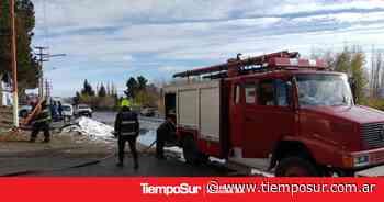 Sofocaron principio de incendio en el Calafate - Tiempo Sur