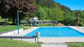 Freibad in Hornberg - Bademeister freuen sich über Start in die Saison - Schwarzwälder Bote