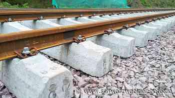 St. Georgen/Hornberg - Bahnstrecke wird seit dem 19. März saniert - Schwarzwälder Bote