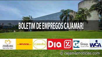 Natura, DHL e outras grandes empresas abrem vagas em Cajamar - 02/06 - Cajamar Notícias