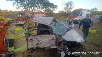 Uma pessoa morre em colisão na DF-150, em Sobradinho II - Estradas