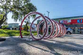 Prefeitura de Bertioga instala novos bicicletários - Diário do Litoral