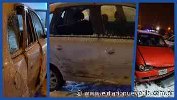 Fuerte accidente vial en el Barrio Calafate - El Diario Nuevo Dia