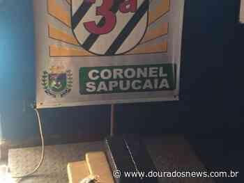 Adolescente é preso transportando drogas em Coronel Sapucaia - Dourados News