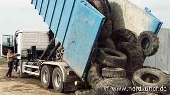 Reifen-Recyclingwerk – Rudert Pasewalk zurück? - Nordkurier