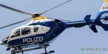 Unfall in Grimma: Polizei sucht mit Hubschrauber nach Fahrer - Leipziger Volkszeitung