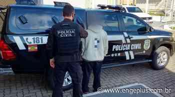 Investigado por tráfico de drogas é preso no Centro de Orleans - Engeplus