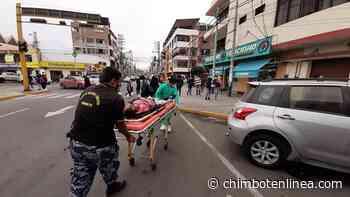 Sujeto que caminaba ebrio fue atropellado en la avenida José Gálvez de Chimbote - Diario Digital Chimbote en Línea