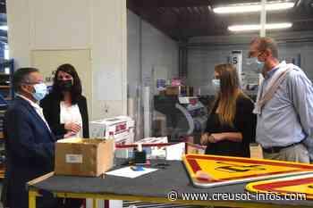 Départementales (Montchanin Blanzy) : Alain Ballot et Sophie Clément ont visité deux entreprises en pleine expansion sur la Zone du Monay à Saint-Eusèbe - Creusot-infos.com