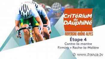 4e étape : Firminy > Roche-la-Molière (16,4 km) en streaming - Replay France 3 - france.tv