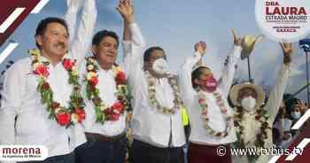 Pueblo de Tuxtepec respalda a Morena en cierre, triunfo será contundente este 6 de junio - TV BUS Canal de comunicación urbana