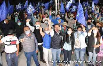 La fuerza de la gente hará posible el rescate de Ixmiquilpan: E. Ramírez - Quadratín Hidalgo