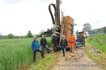 Borgholzhausen will die eigene Wasserversorgung sichern: Noch muss Halle der Nachbarstadt Grundwasser liefern - Westfalen-Blatt