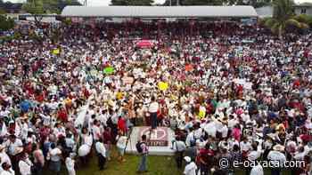 Pueblo de Tuxtepec respalda a Morena en cierre, triunfo será contundente este 6 de junio - e-oaxaca Periódico Digital de Oaxaca
