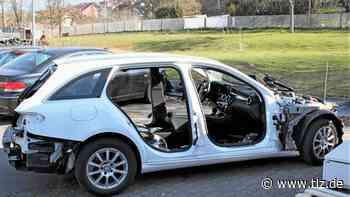 Automarder schlachten Mercedes in Heiligenstadt aus - Thüringische Landeszeitung