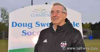Corner Brook renames soccer field in honour of Doug Sweetapple's 50-years in the sport | Saltwire - SaltWire Network