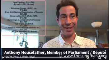Housefather announces funding for Mount Royal organizations | City News | thesuburban.com - The Suburban Newspaper
