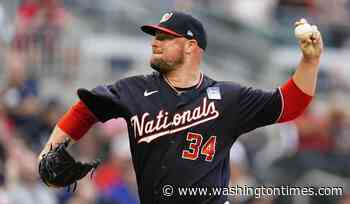 Gomes' homer in 8th lifts Nationals over Braves, 5-3