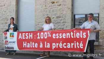 Mende : accompagner les élèves en situation de handicap, un métier à défendre - Midi Libre