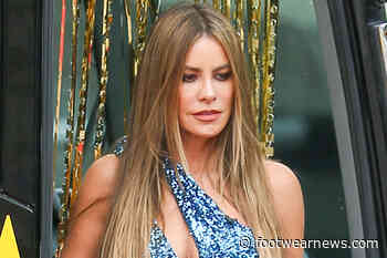 Sofia Vergara Is Ready for Summer in an Off-the-Shoulder $32 Sundress & a 2000s-Chic Chunky Necklace - Footwear News