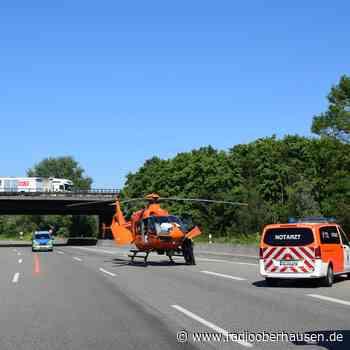 Unfall: Vollsperrung der A42 Richtung Kamp-Lintfort - Radio Oberhausen