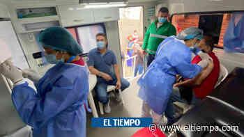 En Sincelejo están aplicando 5.000 vacunas diarias contra coronavirus - El Tiempo