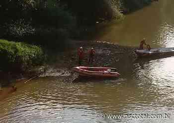 Corpo de mulher é encontrado no rio Negro, em Mafra   NSC Total - NSC Total