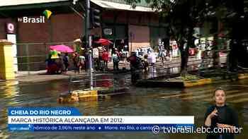 Cheia 2021 do Rio Negro atinge marca histórica de 2012   Repórter Brasil   TV Brasil   Notícias - TV Brasil