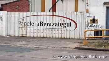 Falleció un trabajador en la Papelera Berazategui - La Izquierda Diario