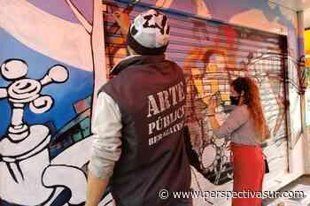En Berazategui, artistas intervienen puestos de diarios y kioscos - Perspectiva Sur