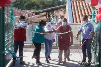 San Martín: Ministerio de Educación inaugura nuevo colegio en distrito de Uchiza - Agencia Andina