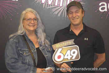Rocky Mountain House couple wins $2 million lottery prize - Red Deer Advocate