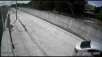 Assaltantes invadem casa e levam TVs e carro em Itaitinga; vídeo - G1
